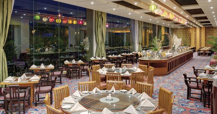 Asian Buffet Bar
